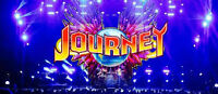 Two hard copy tickets for Journey