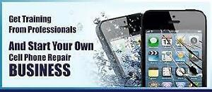 We train people to become Cell Phone Technicians and start making money right away. We also offer them Contracts & Jobs