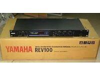 reverb audio unit Yamaha REV100
