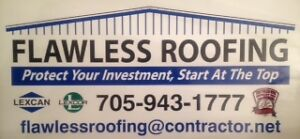 ~COMMERCIAL REPAIRS  BY FLAWLESS ROOFING SURE SEAL INC.