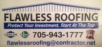 ~COMMERCIAL  FLAT ROOFING BY FLAWLESS ROOFING SURE SEAL INC. ~