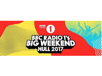 BBC Radio 1 Big Weekend Saturday Ticket + Travel