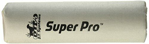 """D.T. Systems Super-Pro Dog Training Launcher Dummy, Bright White, 10"""" (87108)"""