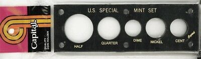 Half Stack Display (Capital Plastic Holder For US Special Mint Coin Set Black Display Cent Half)