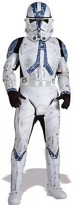 Rubie's Star Wars Clone Trooper Child Boy's Costume Size Medium 8-10 Halloween (Clone Trooper Child Costume)
