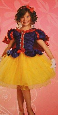 *New* Disney Deluxe Toddler Costume-PRINCESS SNOW WHITE Size (Snow White 3t Kostüm)