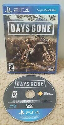 Days Gone (Playstation 4, PS4, 2019) Tested - Fast Free Shipping