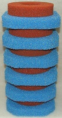 Filterschwamm Set für Oase Filtoclear 15000, 6x grob + 6x fein