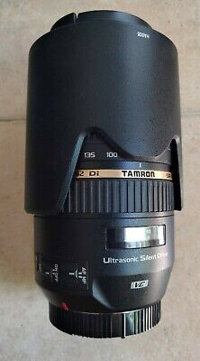 Tamron Zoom Lens For Canon 050735 Sp 70-300 mm F/4-5.6 Di VC, MINT CONDITION