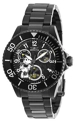 Invicta 27755 Disney Limited Edition Women's 38.0mm Black Steel Black Dial