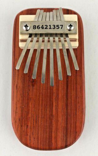 Mountain Melodies thumb piano kalimba 8 Key acoustic  padauk acoustic scale