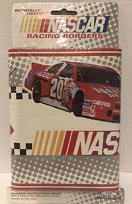 Nascar Wallpaper Racing Border Tony Stewart Vinyl HOME DEPOT #20 NAS20 15'