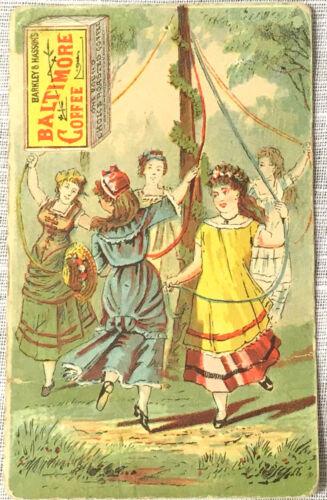 Victorian Trade Card Barkley & Hasson