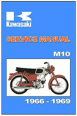 KAWASAKI Workshop Manual M50 1965 1966 1967 1968 1969 & 1970 Service Repair