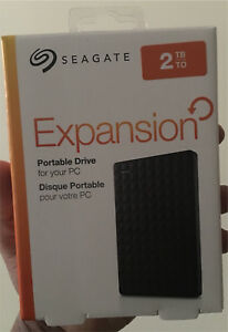 Seagate 2TB portable external hdd USB 3.0