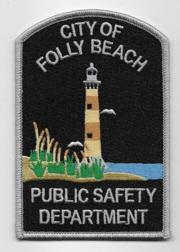 Lighthouse Folley Bch Police State South Carolina SC