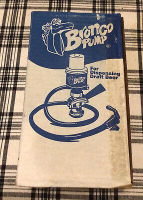 Bronco Beer Keg Pump- Dus Sankey Coupler - Picnic Party Keg Pump Tap