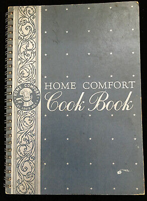 Home Comfort Cook Book Cookbook 1938 American Housewife Canning Pickling ++