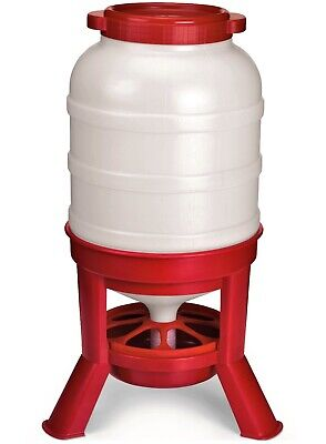 60 Pound Hd Automatic Gravity Fed Dome Poultry Feeder Chicken Feed Domefdr60