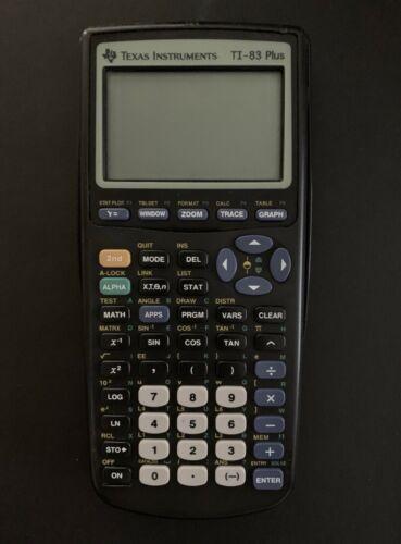 Texas Instruments TI-83 Plus Grafischer Taschenrechner