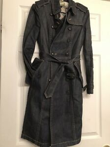 Burberry Classic Denim Trench coat