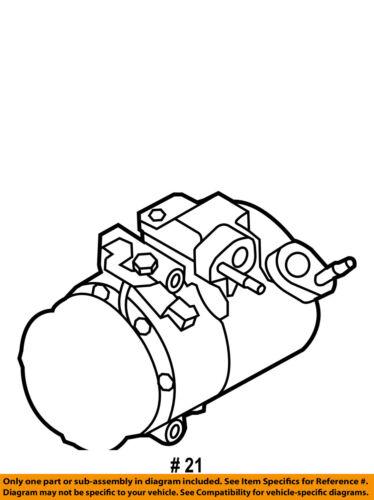 Ford Oem 11 16 Explorer Ac Ac Compressor Eb5z19703b