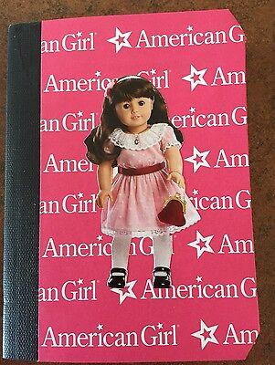 American Girl Doll Custom Made Mini Notebook Samantha-cute valentine
