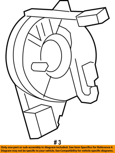Ford Oem F 250 Super Duty Airbag Air Bag Clockspring Clock Spring