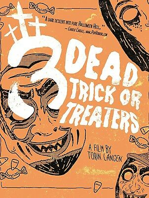 Halloween Trick Or Treat Dvd (3 DEAD TRICK OR TREATERS DVD DISC | HORROR |)
