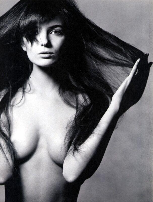 Paulina Porizkova Posing In Blsck And White 8x10 Photo Print