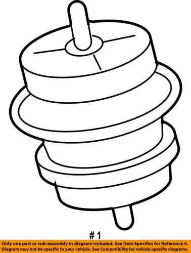 Infiniti Nissan Oem 09 12 Fx35 Engine Motor Mount Torque Strut