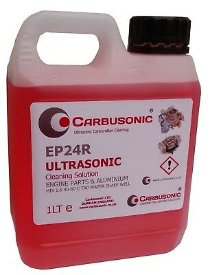 Carburettor & Machine Parts Ultrasonic Cleaning Fluid 1L Cleaning Solution