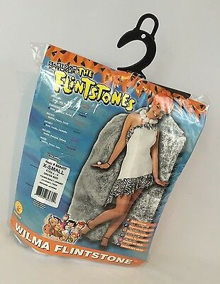 Wilma Flintstone Adult Costume Halloween Women's Cave Girl Sz XS Extra Small TV