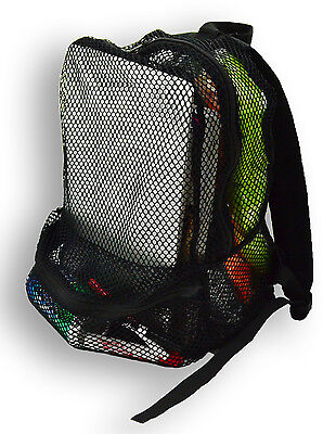 Black Mesh See Through Backpack New With Tags