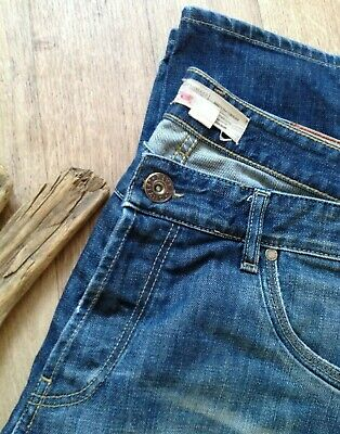 Mens Jeans River Island 38 x 34L  straight leg distressed  holiday summer work