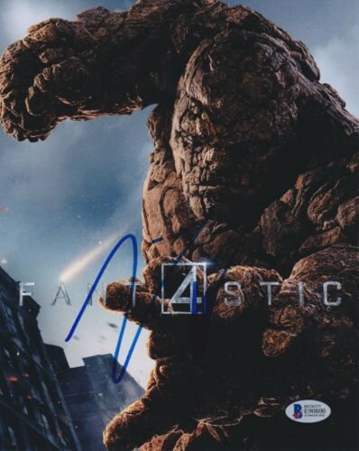 JAMIE BELL SIGNED 8X10 PHOTO FANTASTIC FOUR 4 BECKETT BAS AUTOGRAPH AUTO COA A