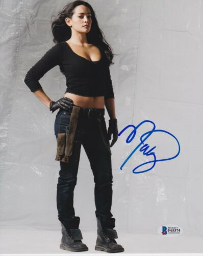 NATALIE MARTINEZ SIGNED 8X10 PHOTO DEATH RACE BECKETT BAS AUTOGRAPH AUTO COA C