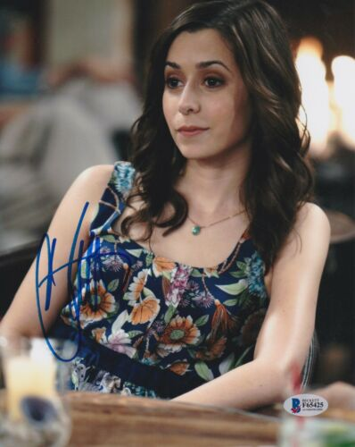 CRISTIN MILIOTI SIGNED 8X10 PHOTO HOW I MET YOUR MOTHER BECKETT BAS AUTOGRAPH C