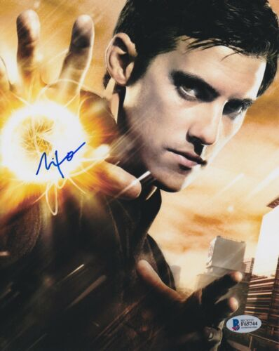 MILO VENTIMIGLIA SIGNED 8X10 PHOTO THIS IS US HEROES BECKETT BAS AUTOGRAPH AUTO