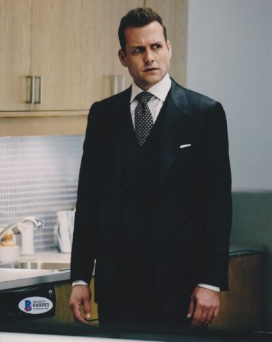 GABRIEL MACHT SIGNED 8X10 PHOTO SUITS BECKETT BAS AUTOGRAPH AUTO COA A