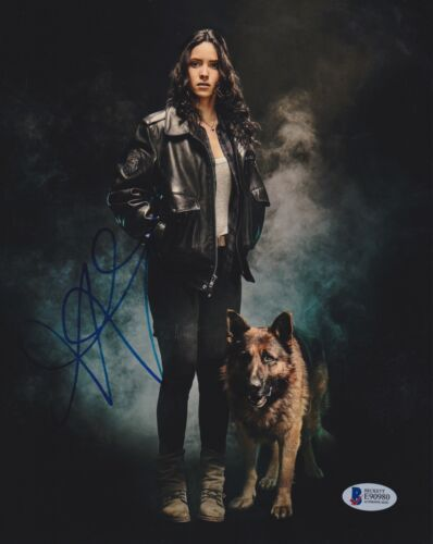 ADRIA ARJONA SIGNED 8X10 PHOTO EMERALD CITY BECKETT BAS AUTOGRAPH AUTO COA A