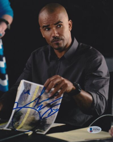 SHEMAR MOORE SIGNED 8X10 PHOTO CRIMINAL MINDS SWAT BECKETT BAS AUTOGRAPH AUTO A