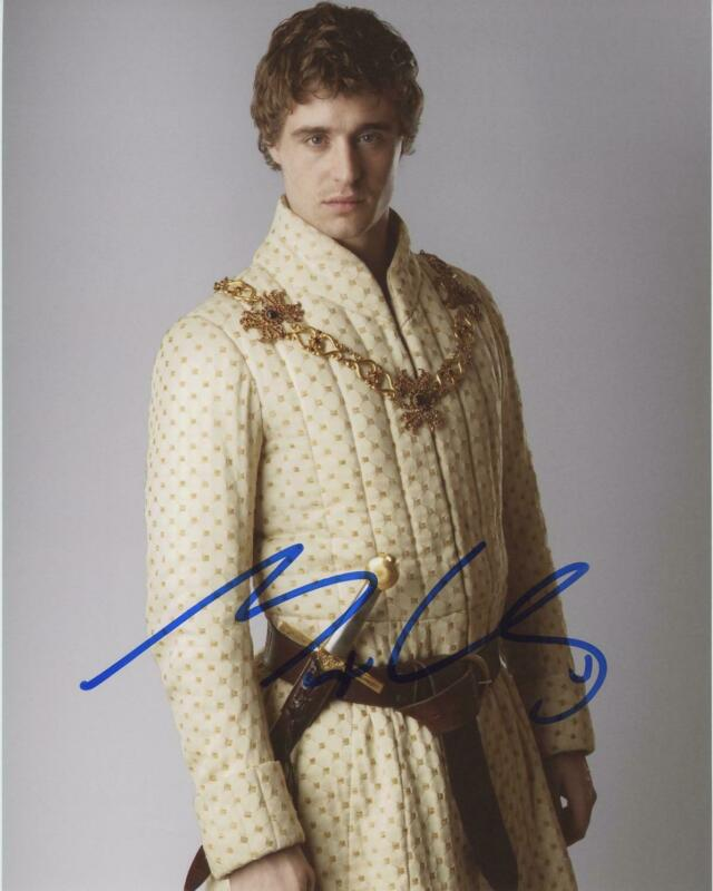 """Max Irons """"The White Queen"""" AUTOGRAPH Signed 8x10 Photo"""