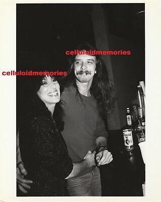 Original Photo Cher of Sonny & Cher & Les Dudek 2-16-81