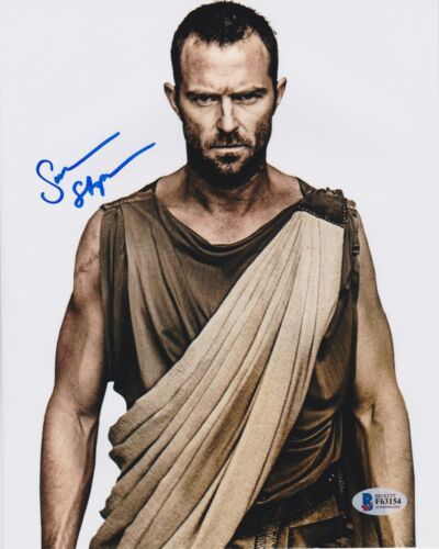 SULLIVAN STAPLETON SIGNED 8X10 PHOTO BLINDSPOT 300 BECKETT BAS AUTOGRAPH AUTO E