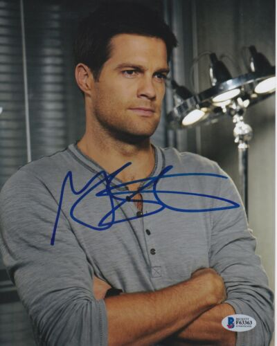 GEOFF STULTS SIGNED 8X10 PHOTO THE FINDER BONES BECKETT BAS AUTOGRAPH AUTO COA A