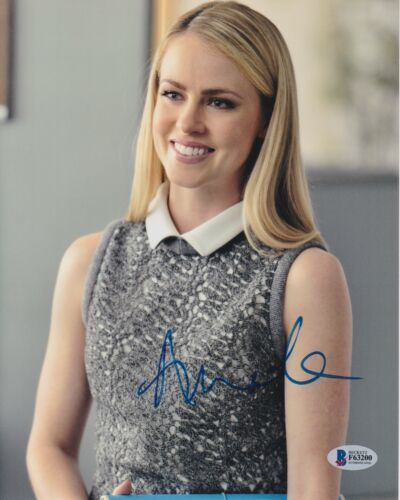 AMANDA SCHULL SIGNED 8X10 PHOTO 12 MONKEYS SUITS BECKETT BAS AUTOGRAPH AUTO C