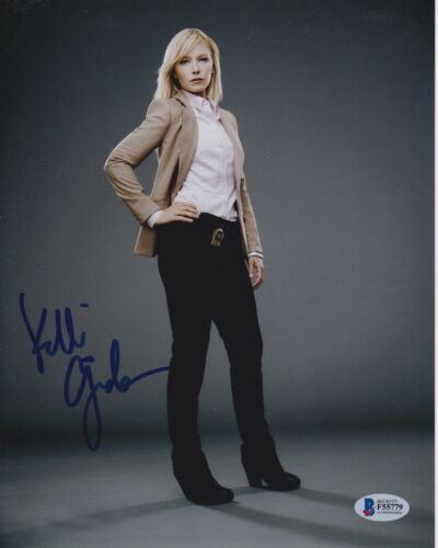 KELLI GIDDISH SIGNED 8X10 PHOTO LAW ORDER SVU BECKETT BAS AUTOGRAPH AUTO COA B