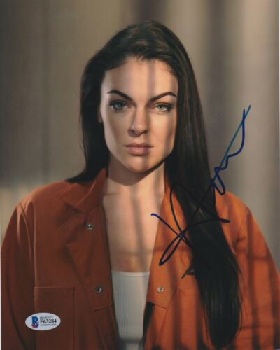 SERINDA SWAN SIGNED 8X10 PHOTO BREAKOUT KINGS BECKETT BAS AUTOGRAPH AUTO COA H