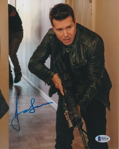 JON SEDA SIGNED 8X10 PHOTO CHICAGO PD P.D. BECKETT BAS AUTOGRAPH AUTO COA A